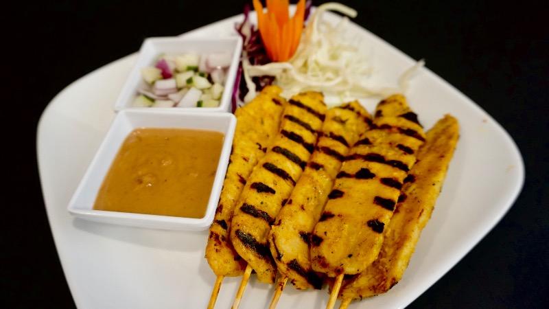 1.Chicken Satay (5) (GF)