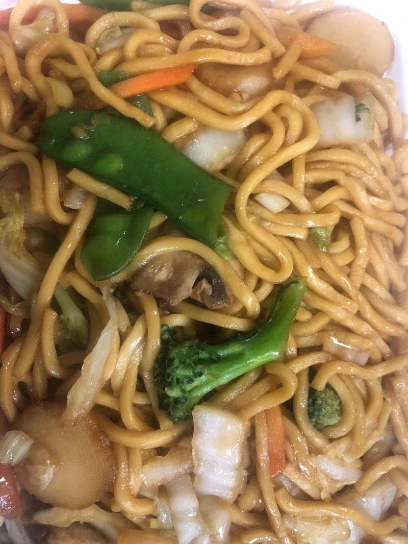 LM 3. Vegetable Lo Mein Image