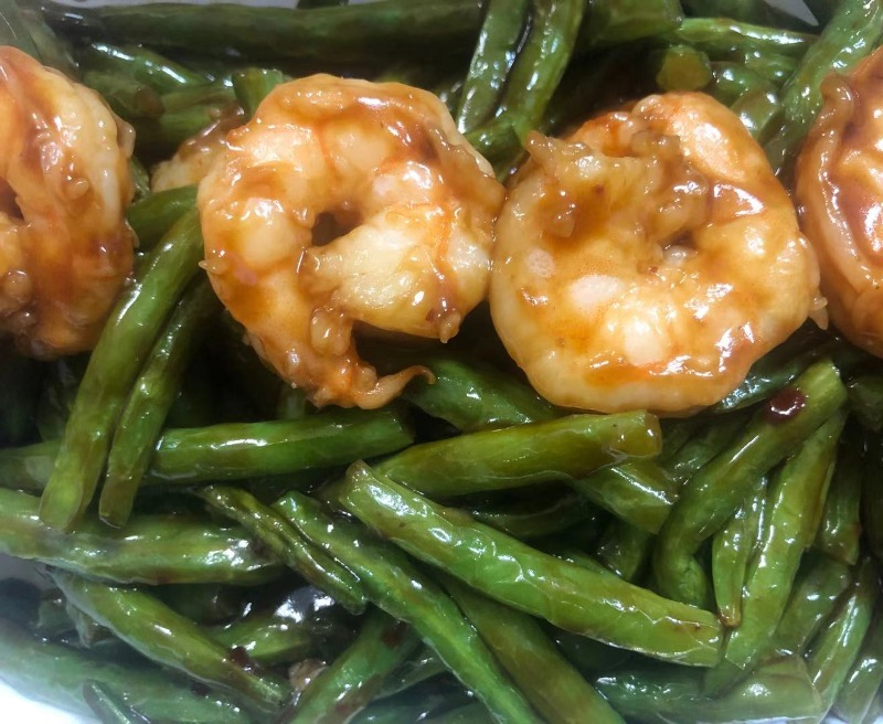 SF18. Shrimp String Beans