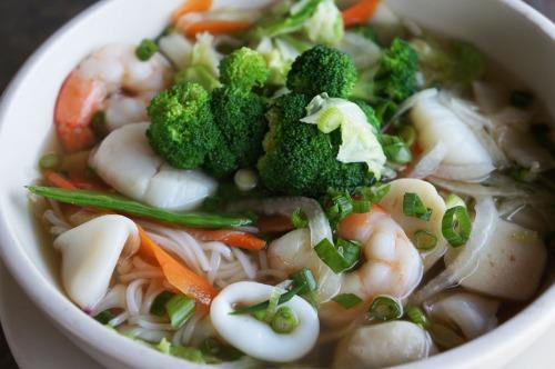 Seafood Noodle Soup - Pho Do Bien