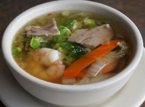 Shrimp and Pork Soup - Sup Tom Thit