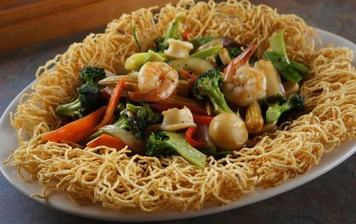 Crispy Egg Noodle- Mi Xao Don