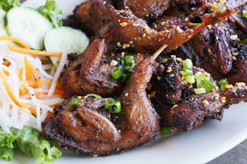 Grilled Quails - Chim Cut Nuong