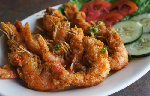 Fried Salted Shrimp - Tom Rang Muoi