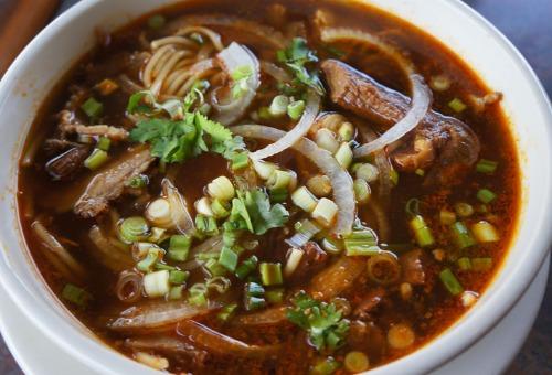 Spicy Beef Lemongrass Noodle Soup - Bun Bo Hue Image