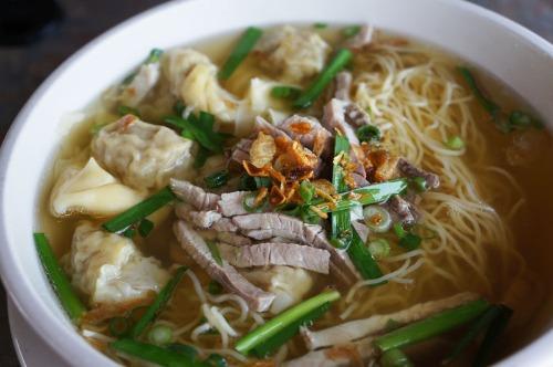 Wonton Noodle Soup- Mi hoac Hu Tieu Hoanh Thanh Image