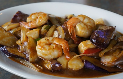 Stir Fried Entree (Seafood)
