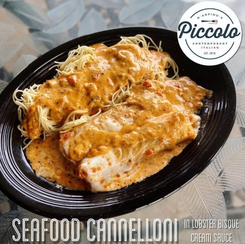 Seafood Cannelloni Special