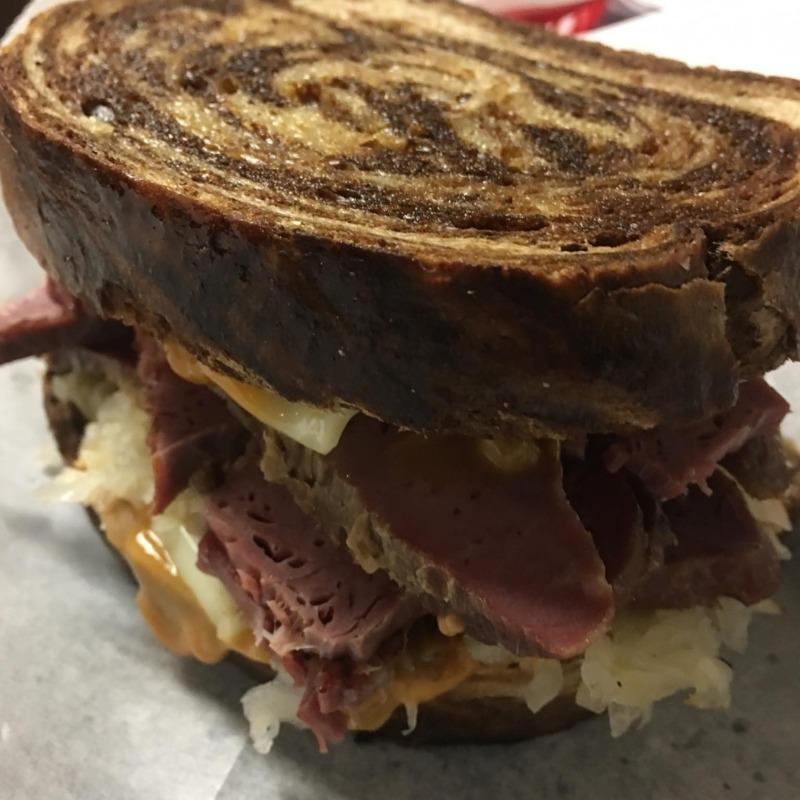 Reuben Sandwich Image