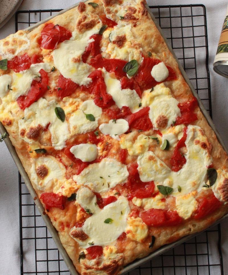 Focaccia Pizza Image