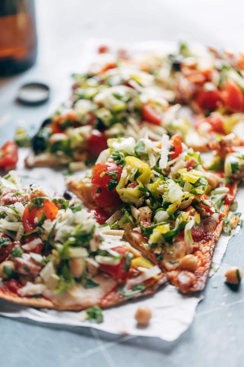 Salad Pizza Image