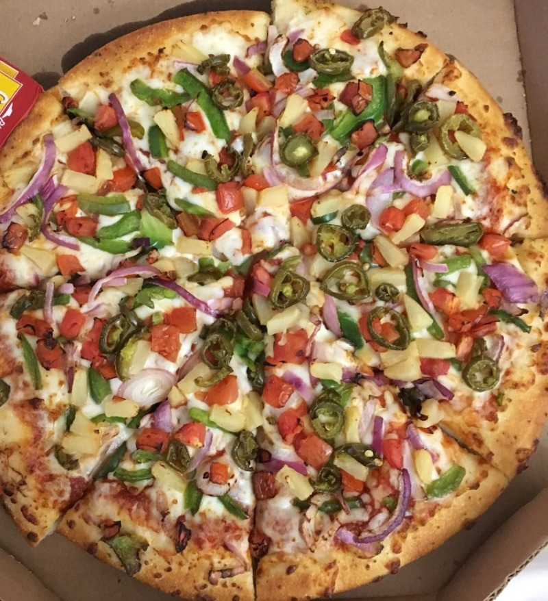 Veggie Lover's Pizza Image