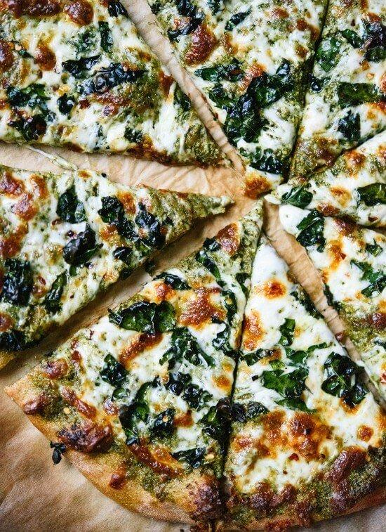Pesto Pizza Image