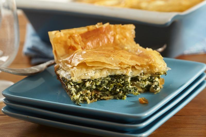 Spanakopita (Spinach Pie) Image