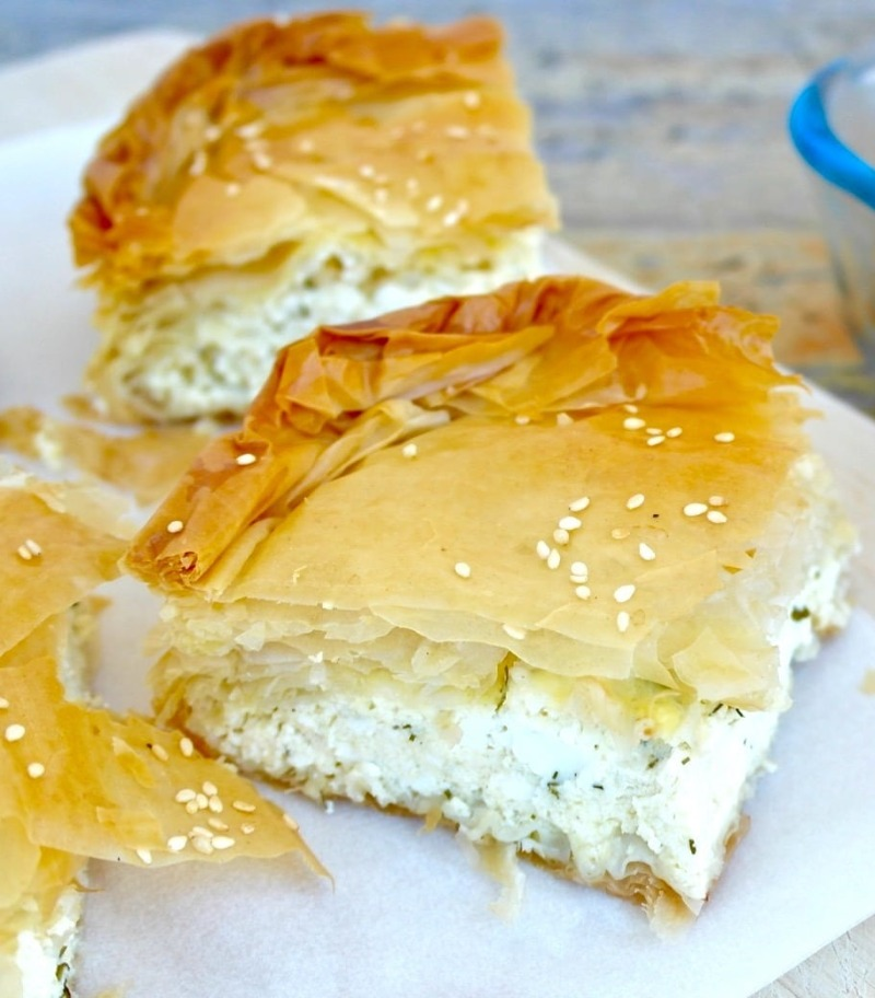 Tiropita (Cheese Pie) Image