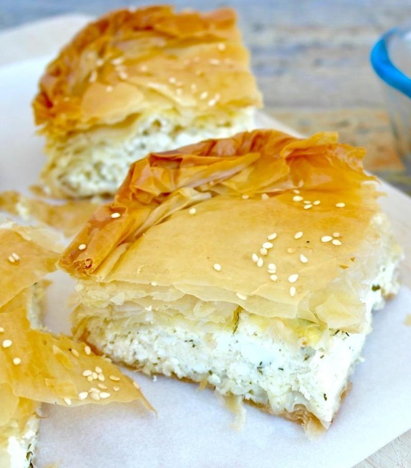 Tiropita (Cheese Pie) Image