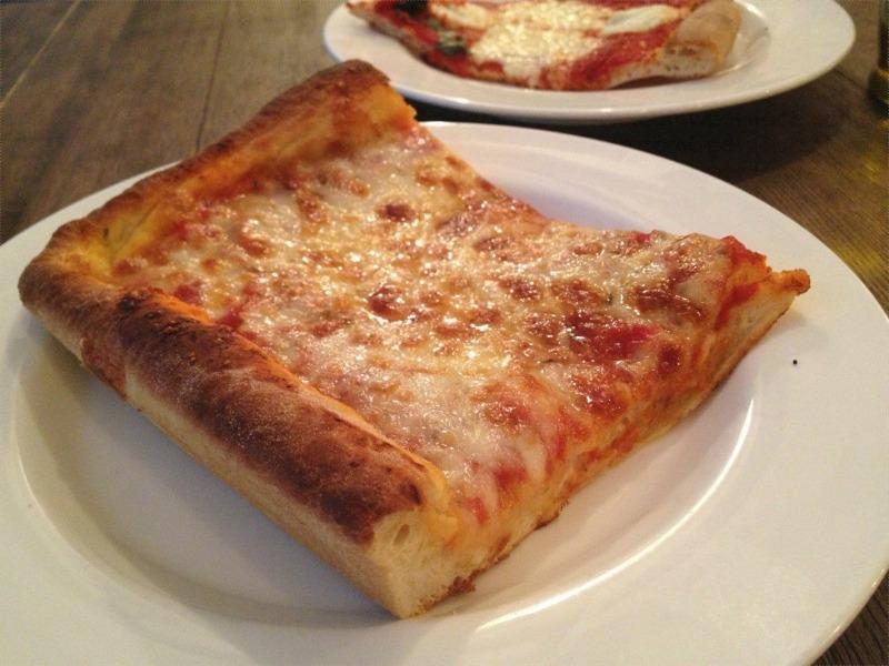 Sicilian Pizza Slice Image