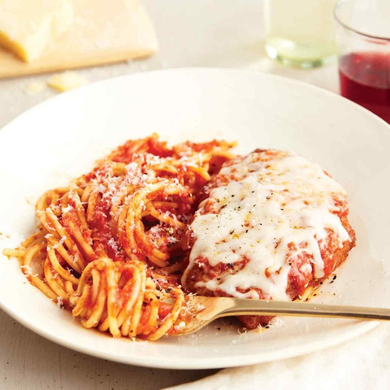 Veal Parmigiana Image