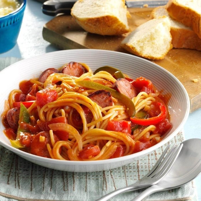 Sausage & Peppers Image