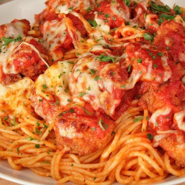 Shrimp Parmigiana Image