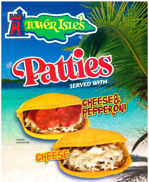 Beef Pattie with Pepperoni & Cheese