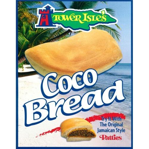 Beef Pattie with Coco Bread Image