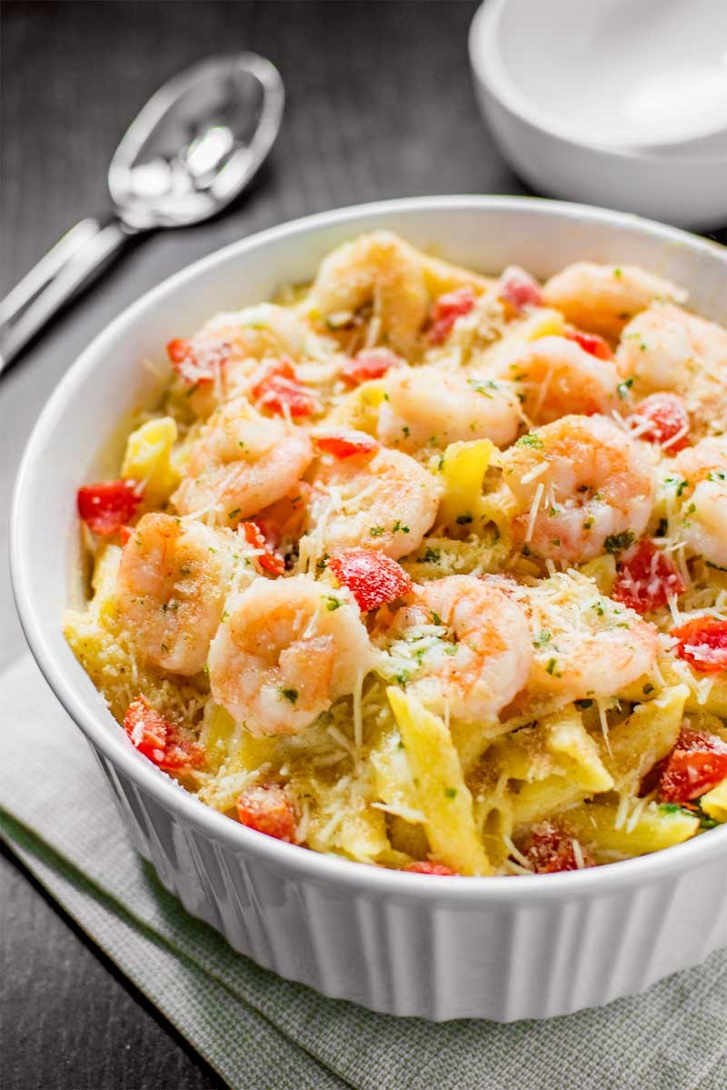 Baked Penne with Shrimp Image