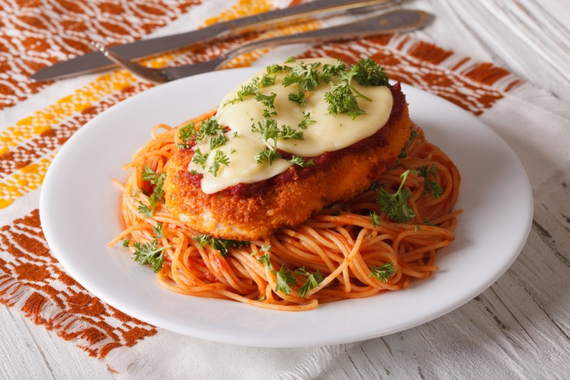 Veal Cutlet Parmigiana Image