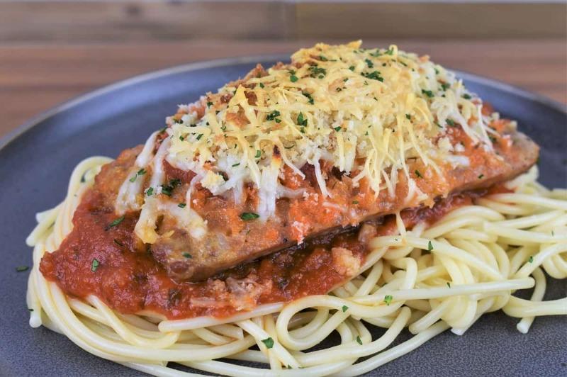 Sausage Parmigiana Image