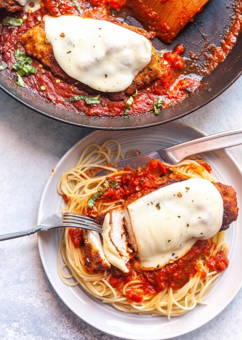 Chicken Cutlet Parmigiana