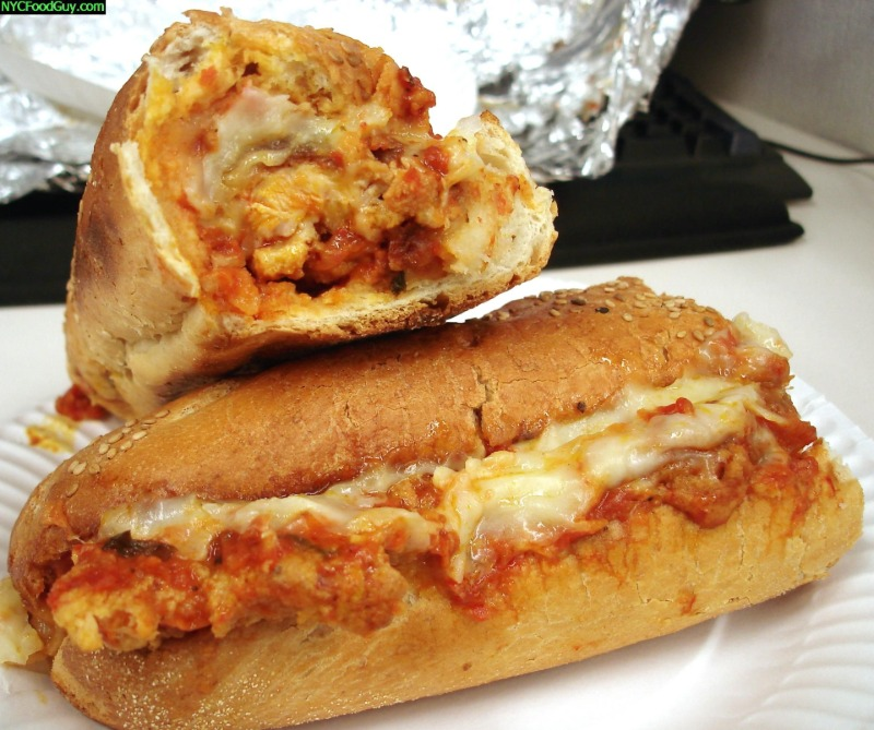Chicken Cutlet Parmigiana Hero Image