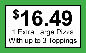16.49 XL Pizza Coupon