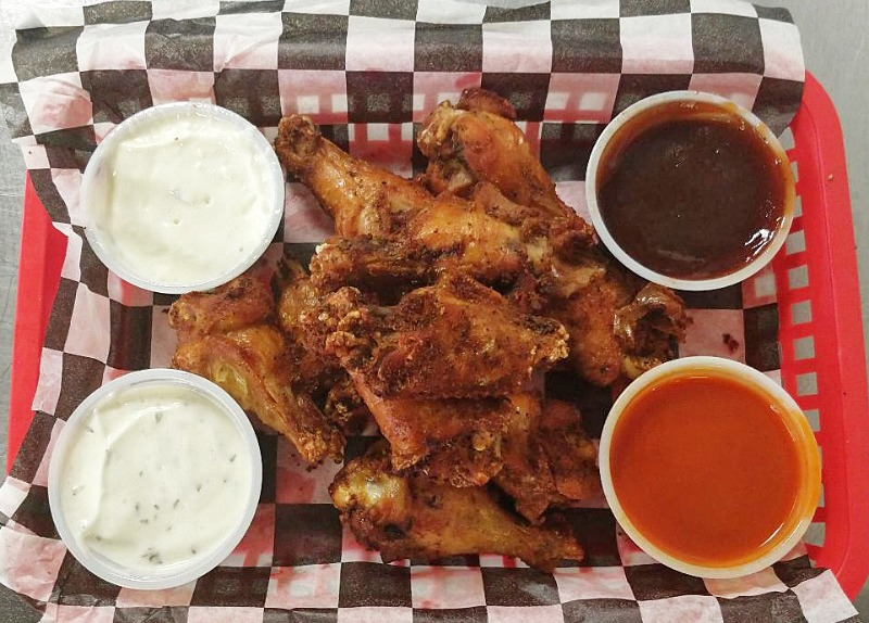 Naked Wings - 5 Piece Image