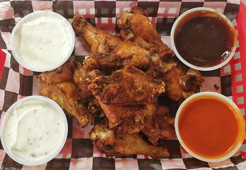 Let's Get Wild with 10 Piece Naked Wings Image