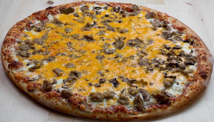 Pizza of the Week: Sausage Mushroom Melt Image