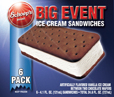 6 Pack of Ice cream Sandwiches
