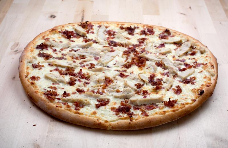 Chicken Bacon Ranch Pizza Image