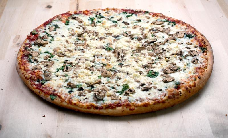 Garden Party Pizza Image
