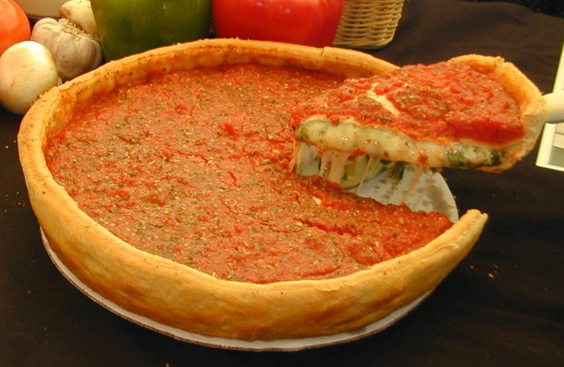 Chicago Style Stuffed BYO Pizzas Image