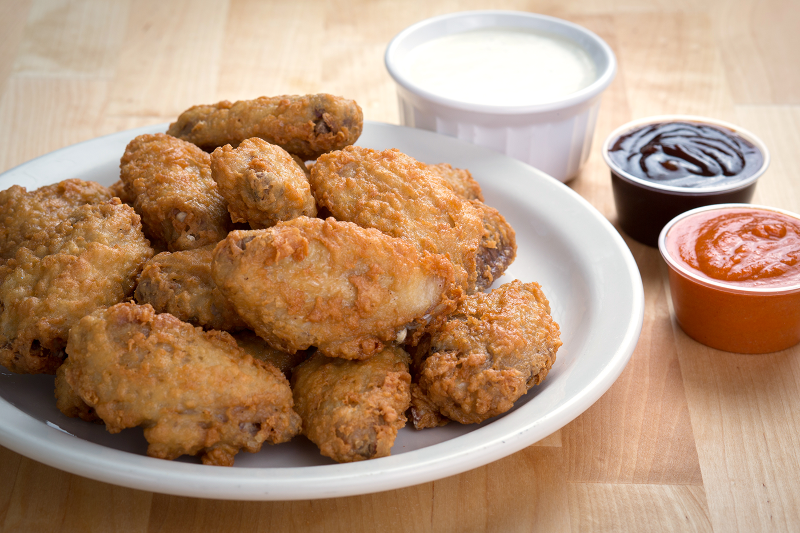 Breaded Wing Dippers - Little Dipper Image