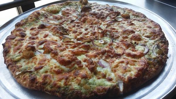 Chicken Pesto Pizza Image