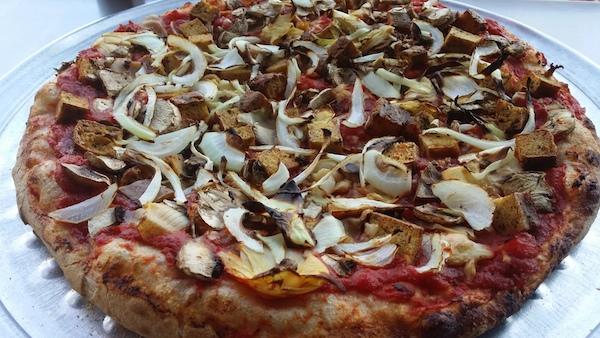 Vegan Pizza Image