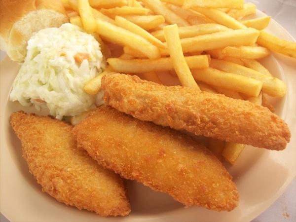 Breaded Perch Dinner Image