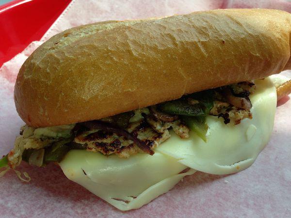 Philly Chicken & Mozzarella Cheese Sub Image