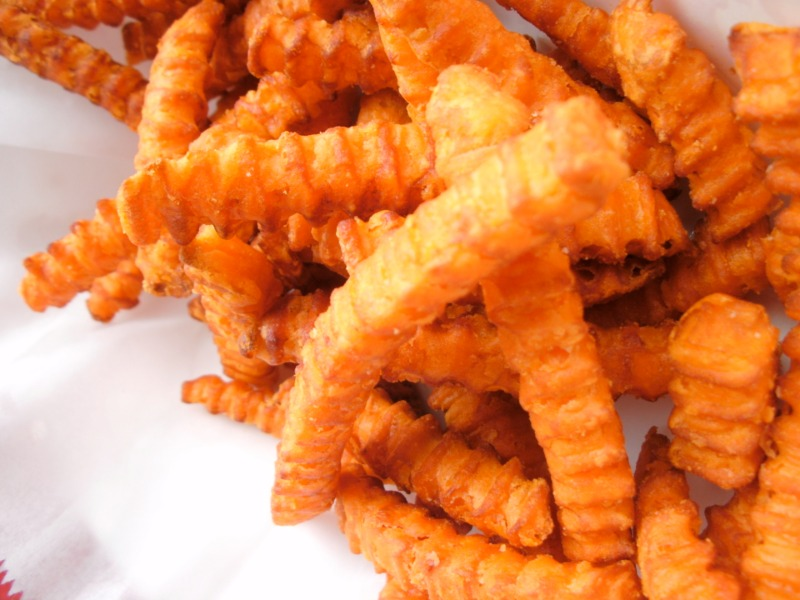 Sweet Potato Crinkle Fries