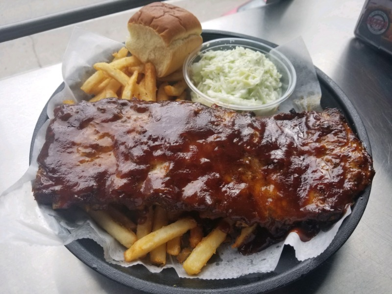 BBQ Ribs Dinner Whole Slab Image