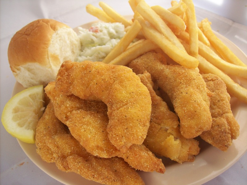 Cornmeal Breaded Catfish Image