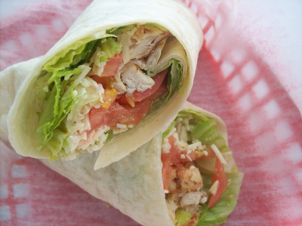 Chicken Caesar Tortilla Wrap Image