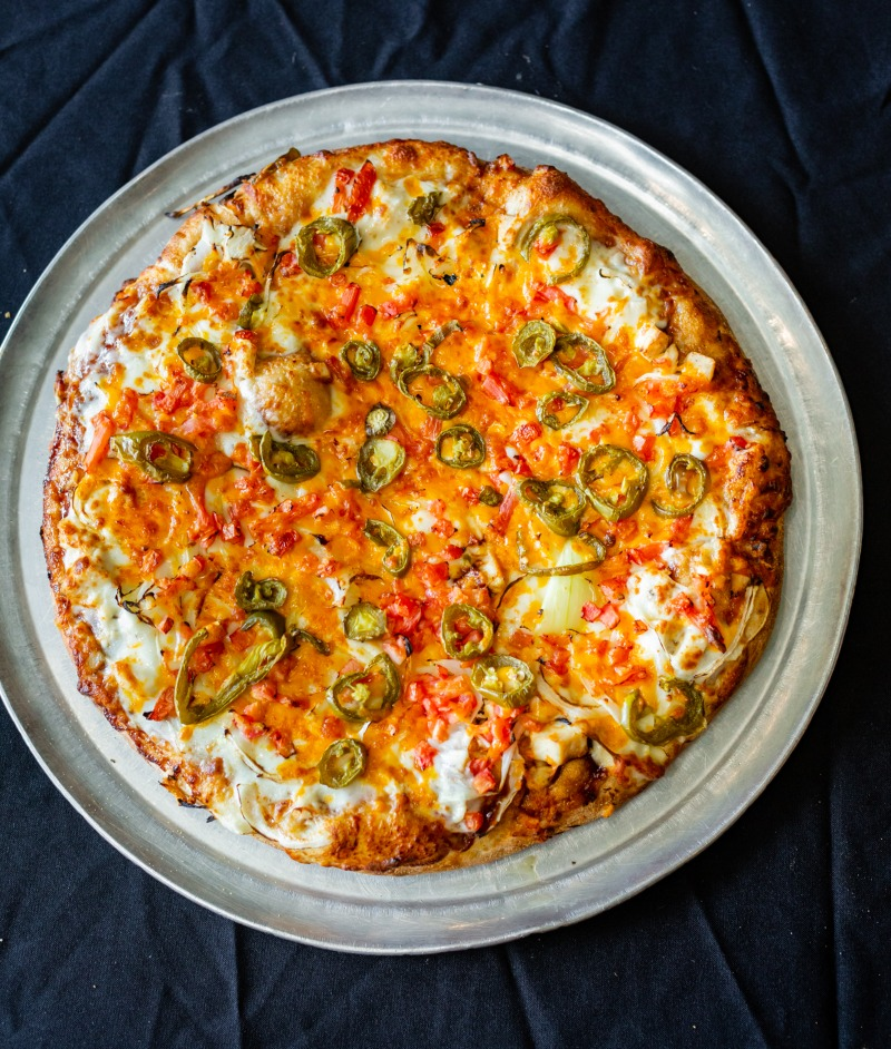 Southern BBQ Chicken Pizza