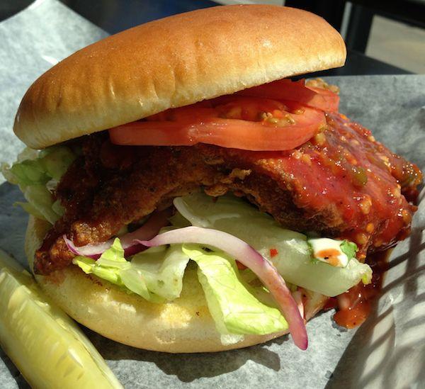 Spicy Buffalo Chicken Breast Sandwich Image